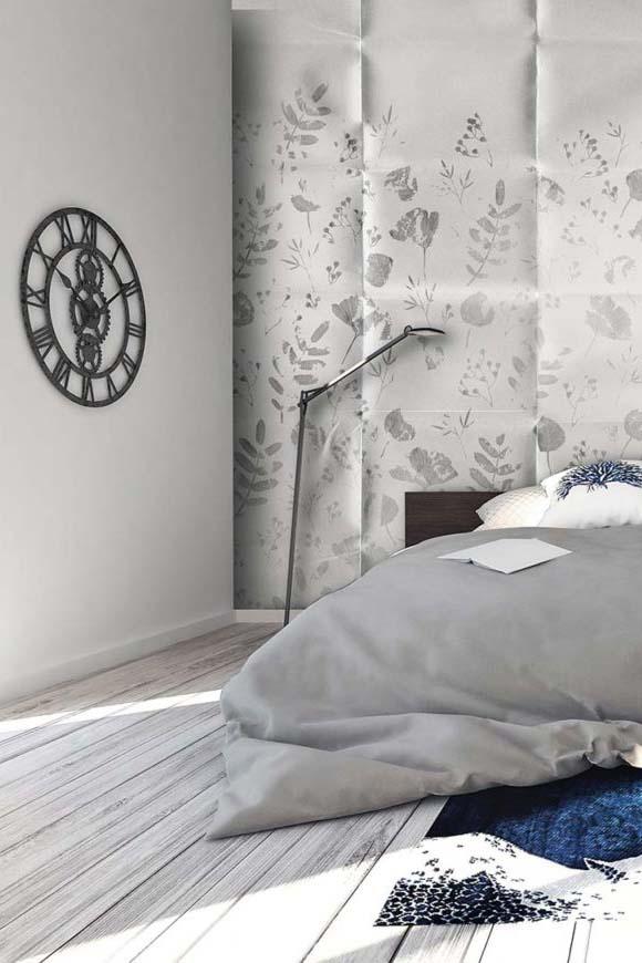 Modern design of bedroom